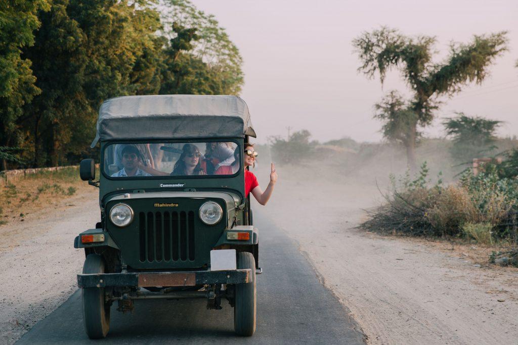 'Jeep Safari Tordi Sagar'- The best way to travel India: solo or group tour