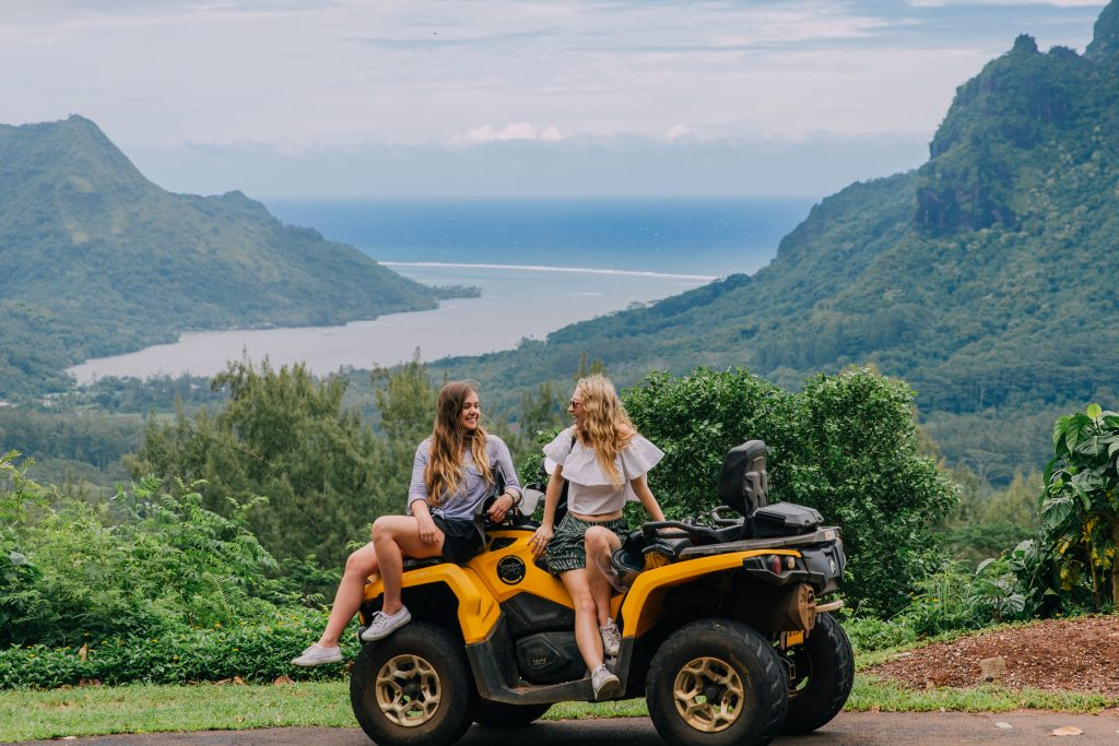 Holiday in Tahiti- ATV in Moorea