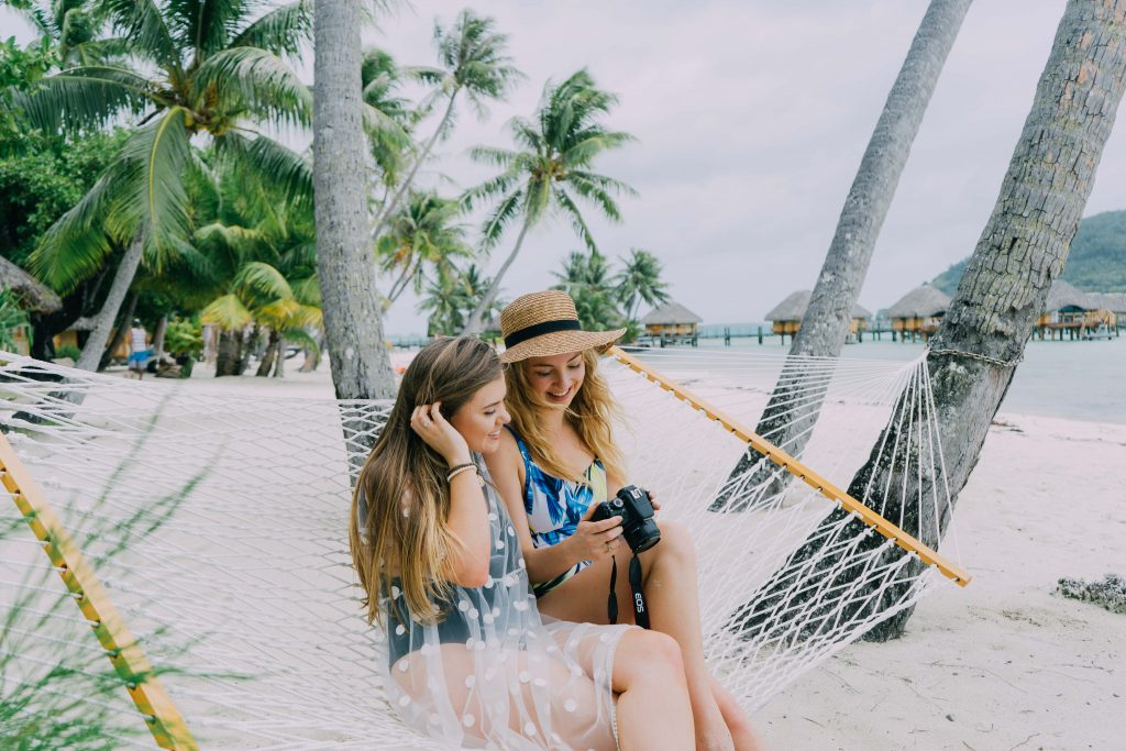 Holiday in Tahiti- Hanging out in Bora Bora