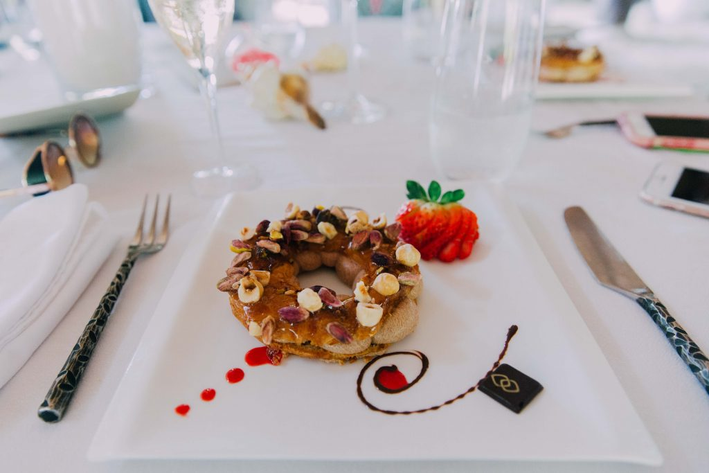 Holiday in Tahiti- Dessert at the Sofitel Moorea
