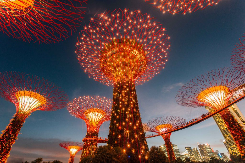 3 day itinerary Singapore- SuperTree Gardens by the Bay